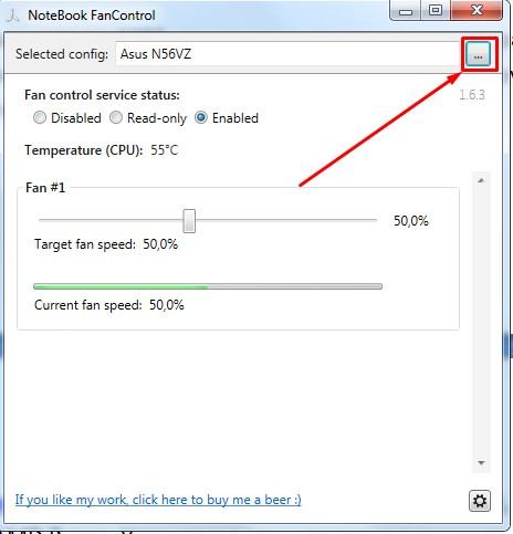 Notebook fan control для ноутбука hp. Как управлять вентилятором (кулером) ноутбука.